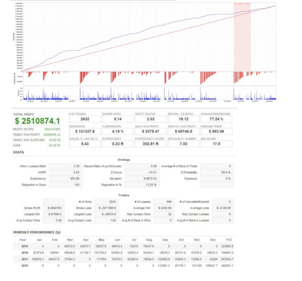 チワワ2のバックテストに関する参考画像